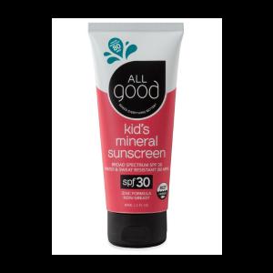 Kids SPF 30 Sunscreen from All Good