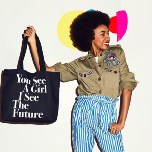 Girl Advocacy Tote Bag from Prinkshop