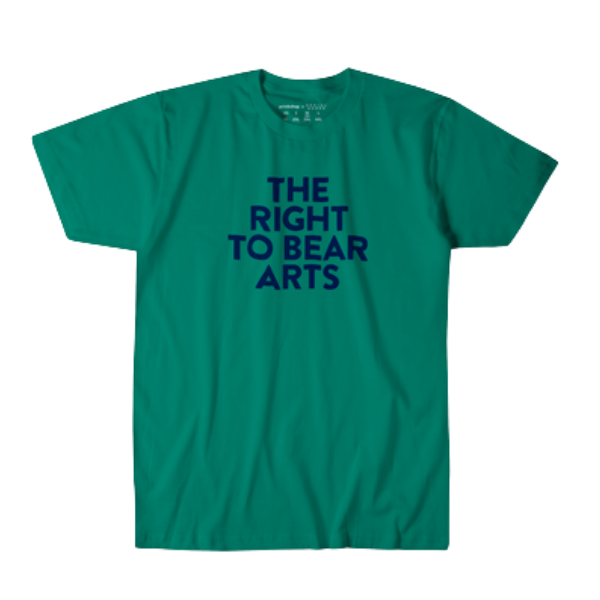 Right to Bear Arts Tee from Prinkshop