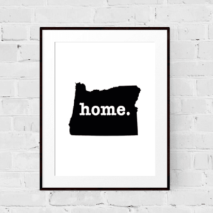 Home Art Print from The Home T