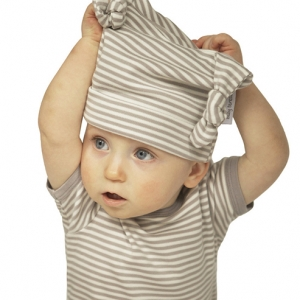 Organic Cotton Knotted Baby Hat from Baby Teresa