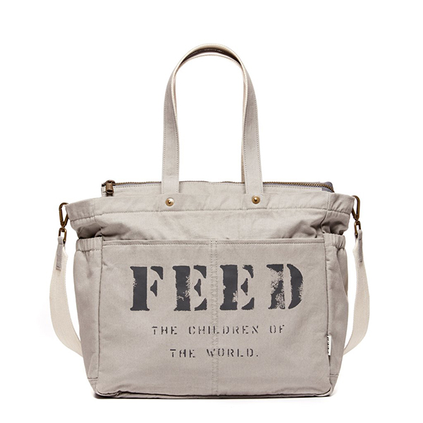 Diaper Bag from FEED Project