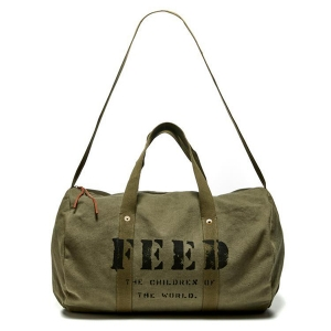 Utility Duffle from FEED Project