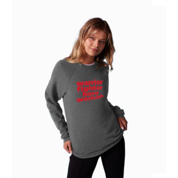 Warrior Fighter Hero Women's Sweatshirt from Prinkshop