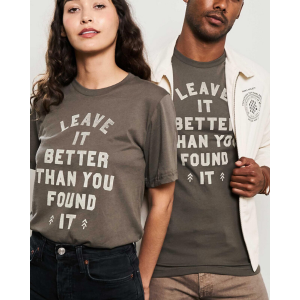 Leave it Better Than You Found it T-shirt from Parks Project