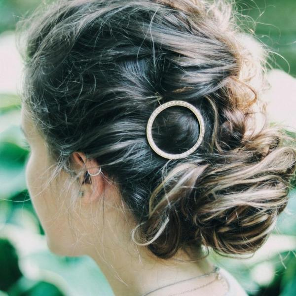 Circle Hair Clip from Headbands of Hope