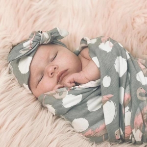 Swaddle + Headband Set from Headbands of Hope