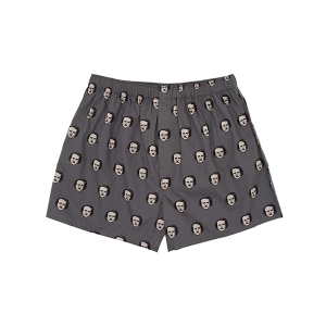 Edgar Allan Poe-ka Dot Unisex Boxers from Out of Print
