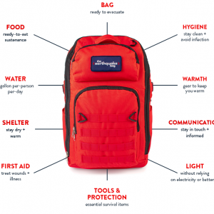 Earthquake Bag from Redfora