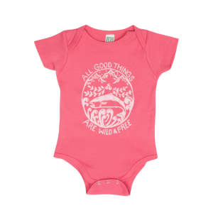Wild & Free Onesie from Salmon Sisters