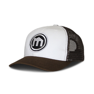 Brown & White Trucker Hat from Mitscoots Outfitters