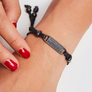 Feel Adjustable Bracelet from Two Blind Brothers