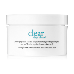 Clear Days Ahead Acne Pads from philosophy