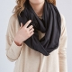 Convertible Travel Pillow Infinity Scarf Uncommon Goods