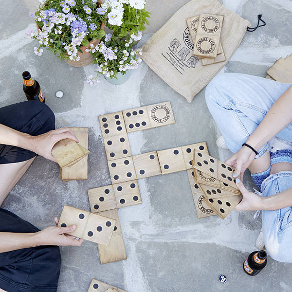 Yard Dominoes from Uncommon Goods