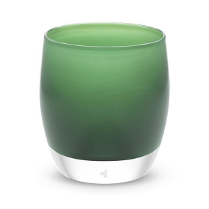 Evergreen Glass Candle Holder from glassybaby