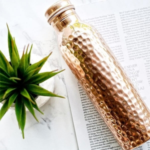 Copper Water Bottle from Copper H2O