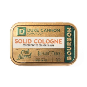 Solid Bourbon Cologne from Duke Cannon