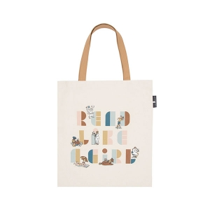 Read Like a Girl Tote from Out of Print