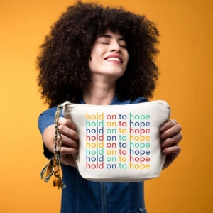 Hold On To Hope Pouch from The Tote Project