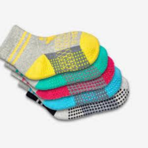 Toddler Gripper Socks 4 pack from Bombas