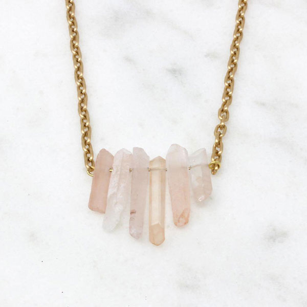 Love Necklace from Bird + Stone