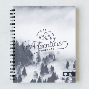 Adventure Spiral Sketchbook from Denik
