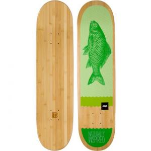 Green Fish Bamboo Skateboard from Bamboo Skateboards