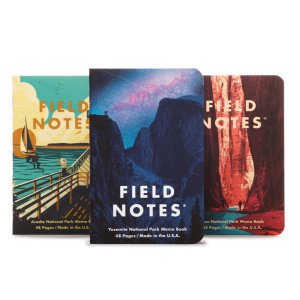 National Parks Notebooks from Field Notes