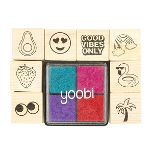 Good Vibes Stamp Set from Yoobi