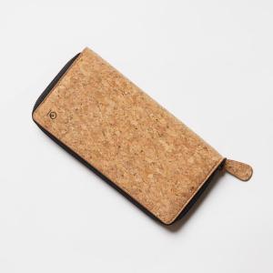 Cork Zipper Wallet by Ten Tree