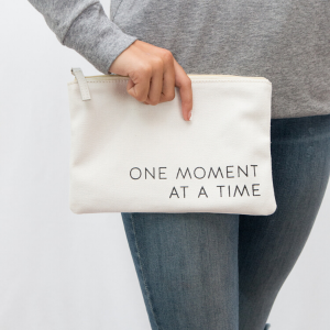 One Moment Canvas Pouch from Link of Hearts