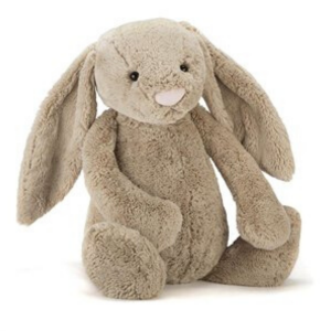 Jellycat's Bashful Bunny from Baby Teresa