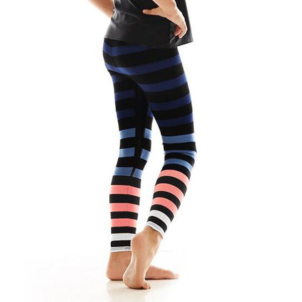 Molly Stripe Kids Leggings from K-DEER