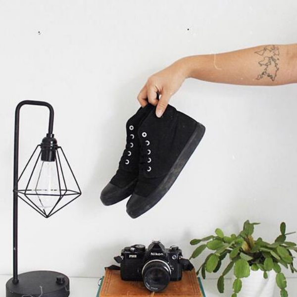 Onyx High Tops from BANGS SHOES