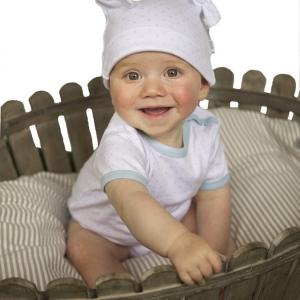 Organic Short Baby Romper from Baby Teresa