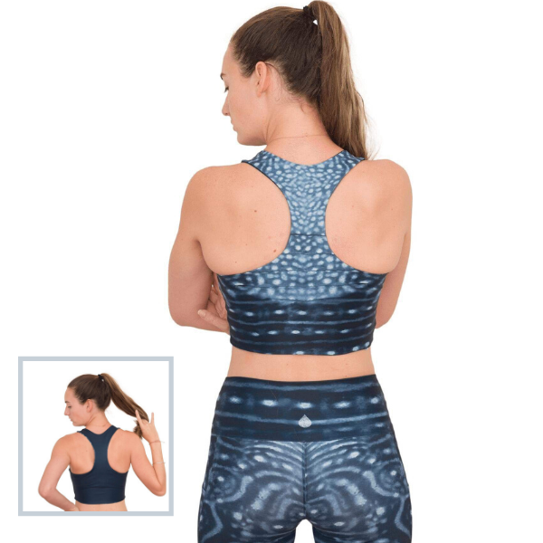 Whale Shark Warrior Reversible Top from Waterlust