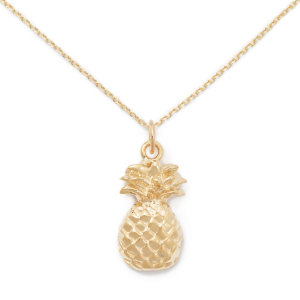 14k Gold Pineapple Pendant from Delicacies