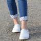 Daisy RE Cuffs from Rhubarb Envy