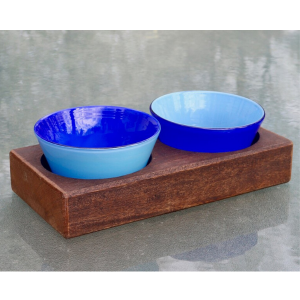 Glass Bowl Tray Set from Serve Kindness