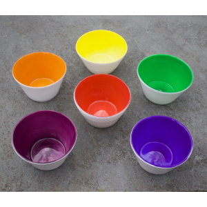 Rainbow Glass Bowl Set from Serve Kindness