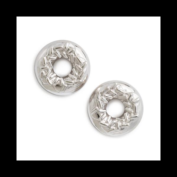 Sprinkle Doughnut Earrings from Delicacies