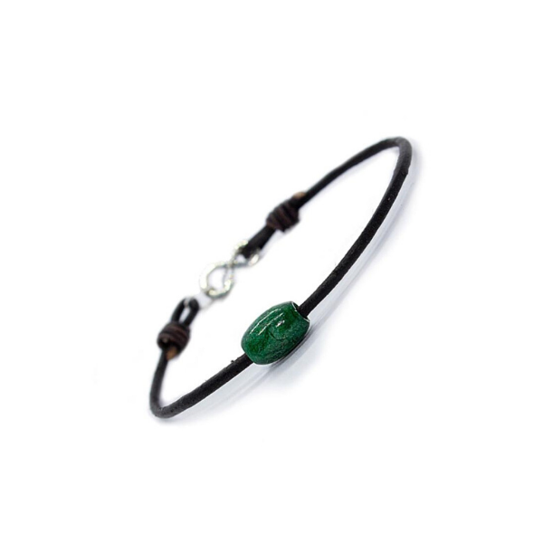 Token Jade Bracelet from Atlas Accessories