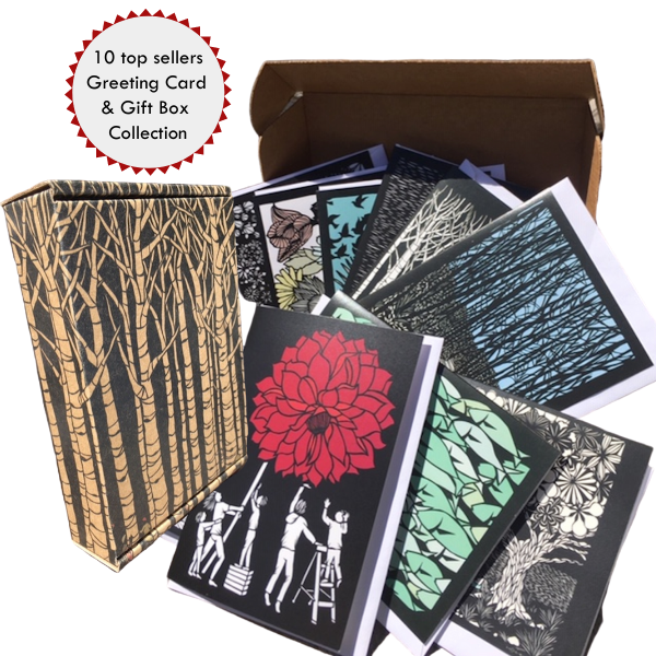10 top Sellers Greeting Card Collection & Gift Box from Elizabeth VanDuine