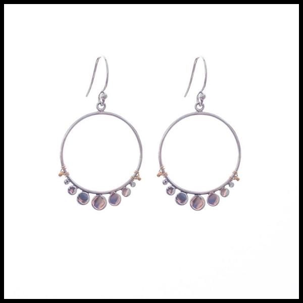 Serenity Earrings from Bronwen Jewelry
