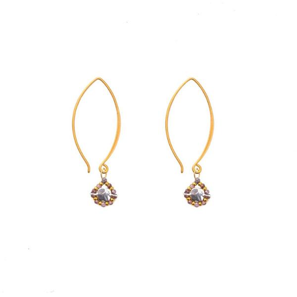 Starlight Earrings from Bronwen Jewelry