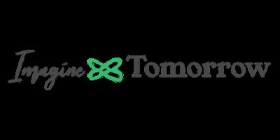 Imagine Tomorrow Logo on Generous Goods