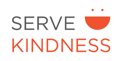 Serve Kindness Logo on Generous Goods