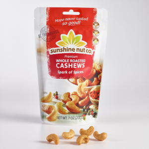 Spark of Spice Roasted Cashews from Sunshine Nut Co