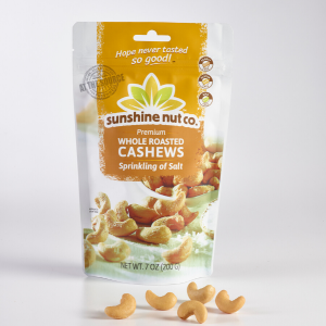 Sprinkle of Salt Cashews from Sunshine Nut Co